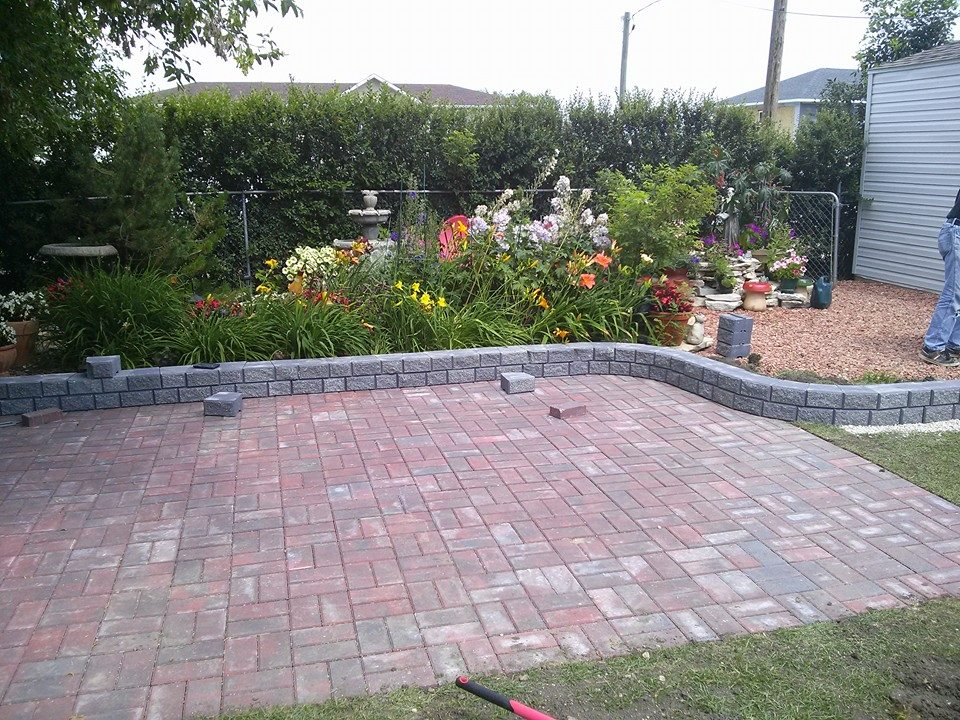 Backyard renovation-Dauphin Contractor